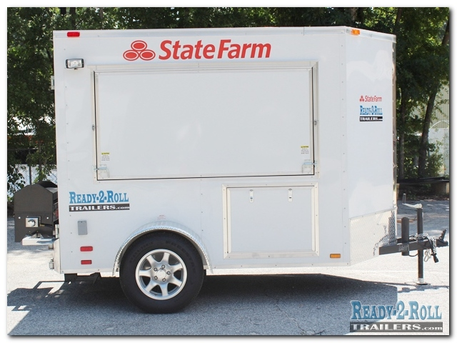 5x8 Company Promotional State Farm Trailer