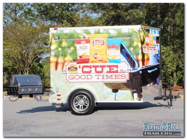 5 x 8 Frito Lay Corporate Promotional Trailer