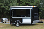 Thomas Rhodes 6x10 Tailgating Trailer