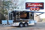 Tailgate USA From Houston - New Party Rental Trailer