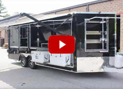 8.5 x 20 Extreme Football Tailgate Trailer
