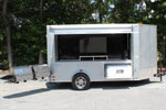 Crop Productions 6'x12' Promotional Tailgating Trailer Findlay Ohio