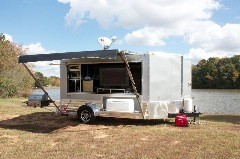 Art's 6x12 Tailgating Camper