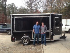 Gabe from Memphis Tennessee has a new party trailer