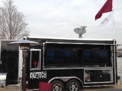 Ryan with Def Tech Tailgates New Trailer