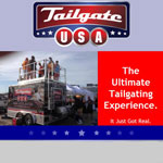 Tailgate USA Trailer Rental - NASCAR Race at Taxas April 10-11: Duck Commander 500