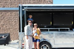 Wallace Family Tailgating Trailer