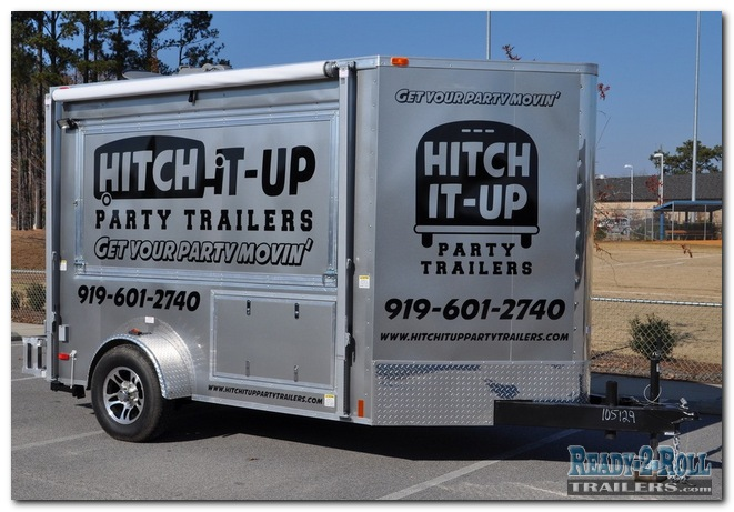 6x10 Hitch-It-Up Party Rental Trailers
