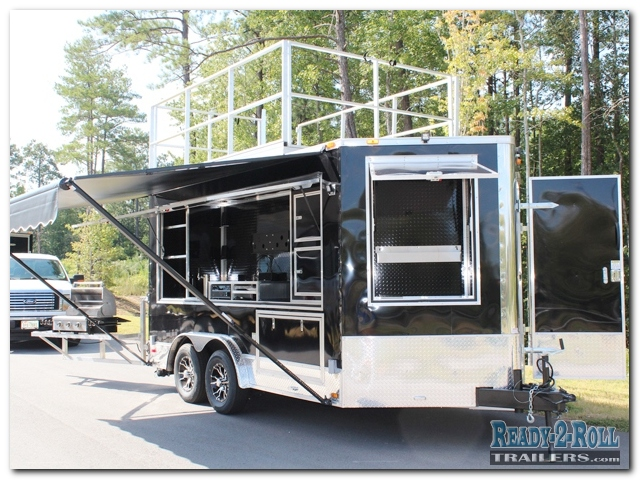 Rv Trailer Deck Ideas 8x14 Tailgating Trailer W 10 Foot