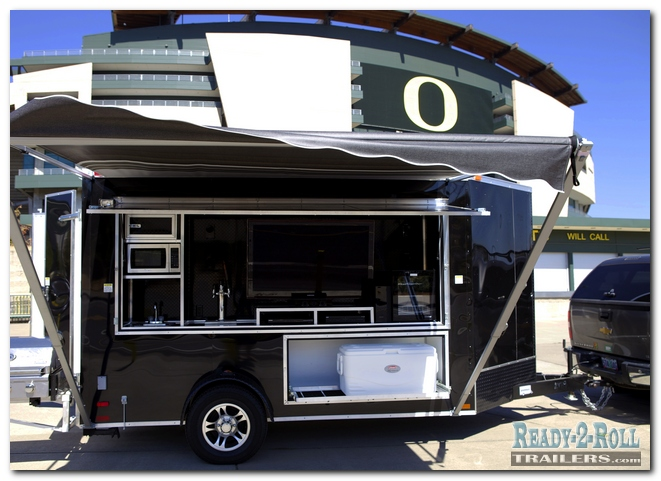 Cornerstone Tailgates Camper Bed Tailgating Trailer