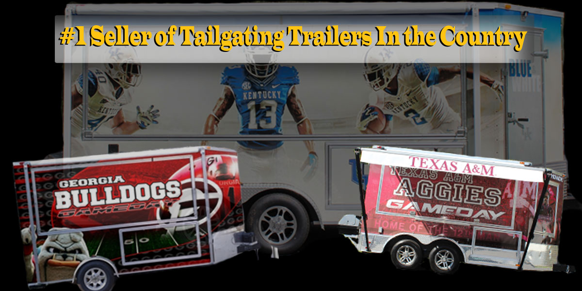 Welcome to Ready-2-Roll-Trailers.com. #1 Seller of Tailgating Trailers In the Southeast.